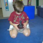 Josh plays the Cabassa