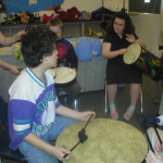 Group drumming supports neurological and physiological growth